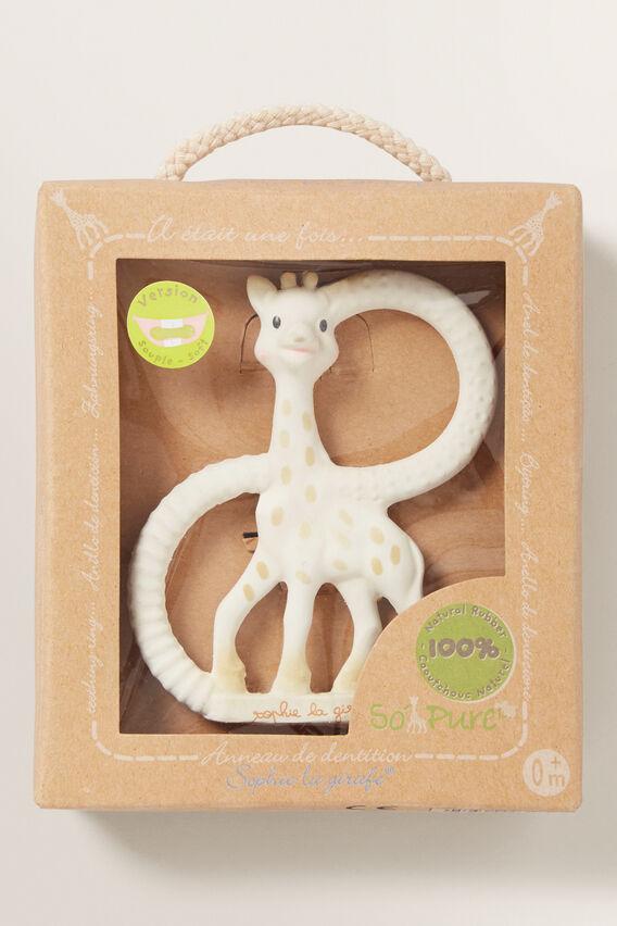 Sophie Giraffe Teething Ring  MULTI  hi-res