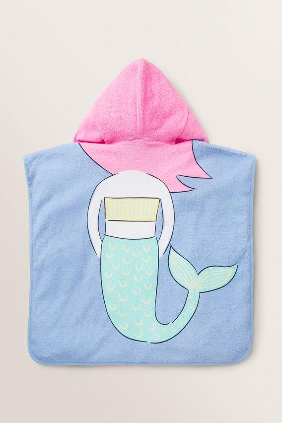 Mermaid Poncho  MULTI  hi-res