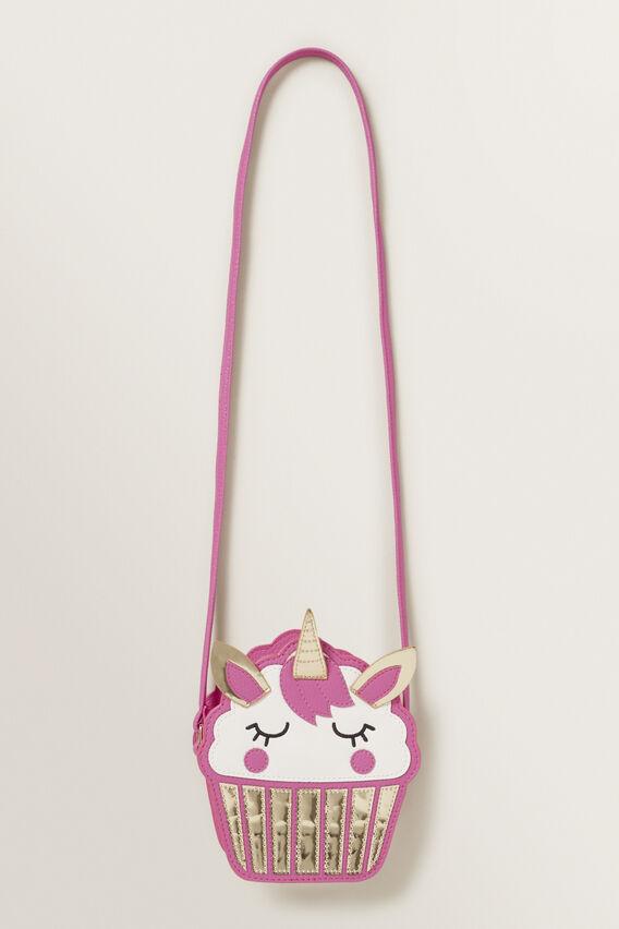 Unicorn Cupcake Bag  FUCHSIA  hi-res