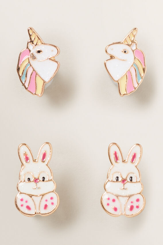 Clip On Earrings  MULTI  hi-res