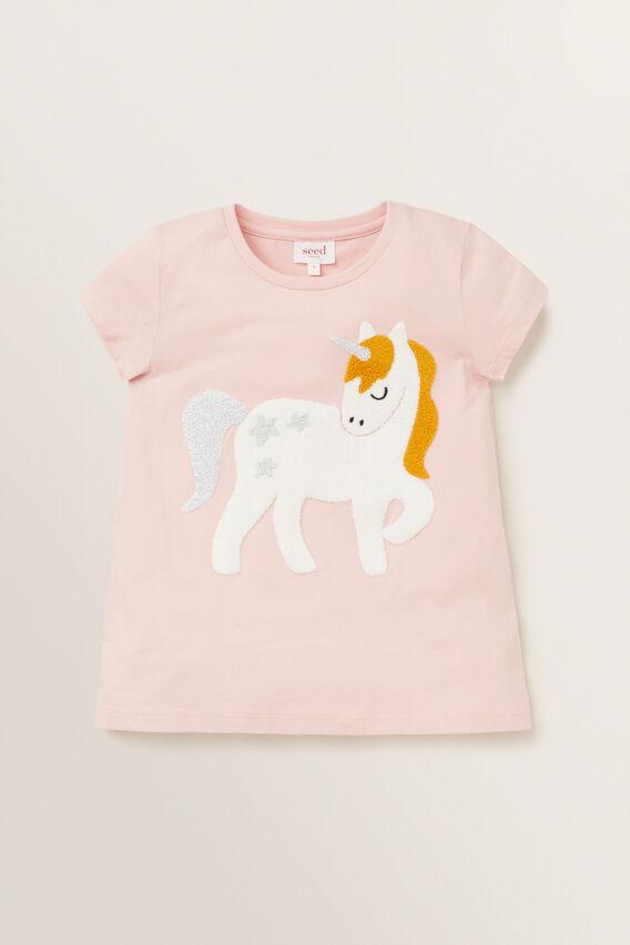 Unicorn Tee  DUSTY ROSE  hi-res
