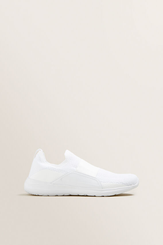 Ivy Pull On Sneaker  WHITE  hi-res