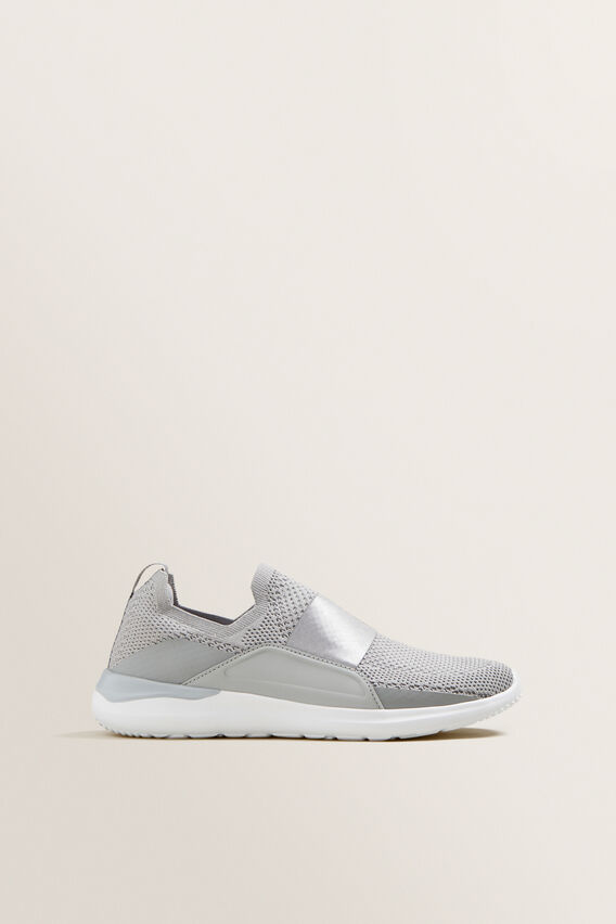 Ivy Pull On Sneaker  GREY  hi-res