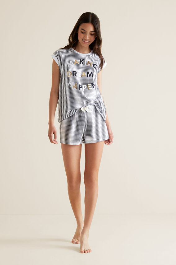 Dream Short Sleeve Pyjama  MIDNIGHT  hi-res