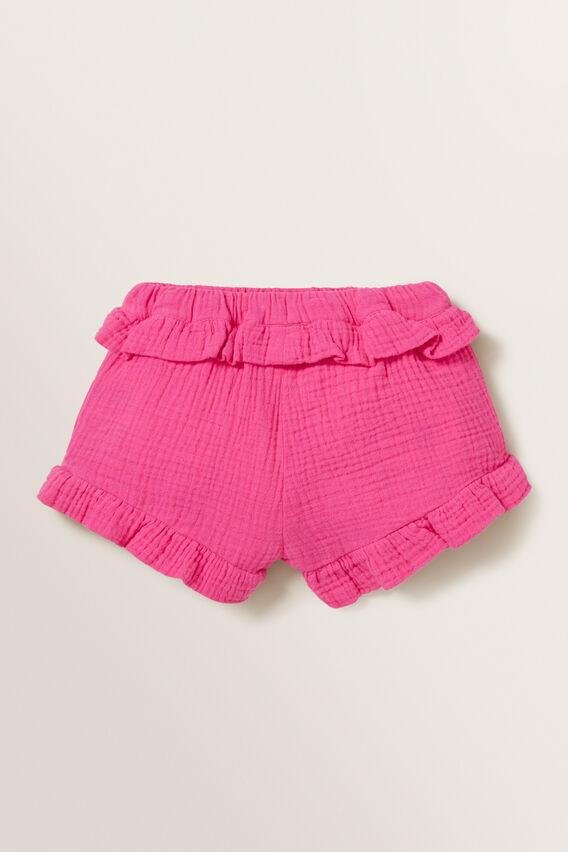 Cheesecloth Shorts  FUCHSIA  hi-res