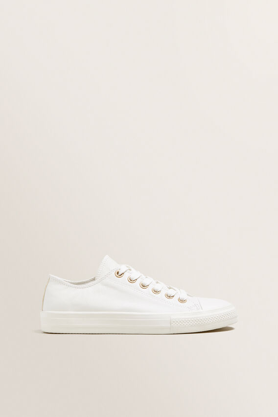 Alice Leather Sneaker  WHITE  hi-res