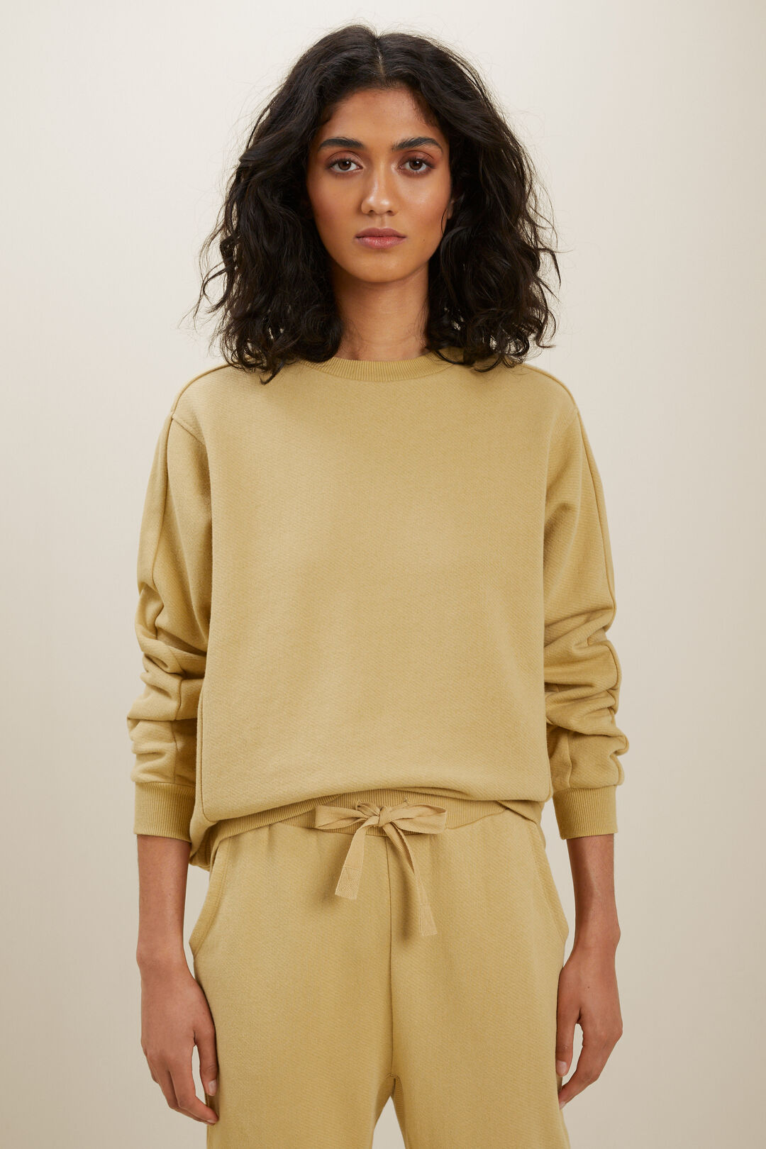 Terry Sweater  FAWN  hi-res